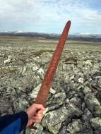 меч 9-го века, найденный искателями в горах Норвегии