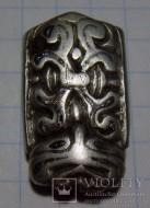Скандинавская серебряная накладка