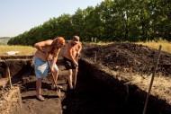 Археологические раскопки на Сидоровском городище