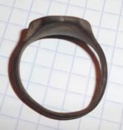 Псевдогеральдический перстень, вторая половина 17 в