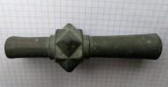 Древнерусская булава с двойной втулкой.11-12 век