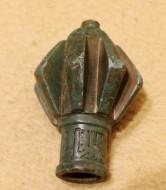 Золотоордныский пернач с арабской вязью на втулке