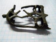 Бронзовый решетчатый наконечников ножен