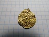 Золотая подвеска в скандинавском стиле, Киевская Русь