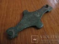 Поясная накладка Киевской археологической культуры