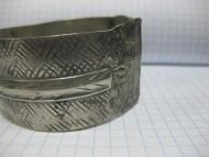 Серебряный браслет 17 века
