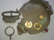 Клад золотых украшений, периода Черняховской культуры