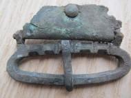 Ременная пряжка, периода поздней Римской Империи