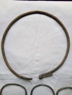 Славянская серебряная шейная гривна