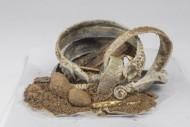 Горшочек с драгоценностями из клада эпохи Викингов