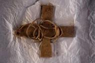 Находка креста из клада викингов