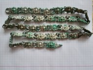 Серебряная цепь на шляхетский плащ