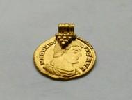 Украшение-ауреус Флавий Магн Магнеенций (350-353)