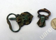 Аланские бронзовые орнаментированные пряжки