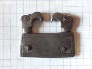 Часть готской пряги с грифами, периода ВПН 5-6 в.в.