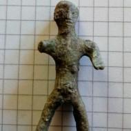 Грубая фигурка Фракийского Всадника, Придунавье III в.