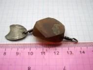 Серебряные привески-лунницы Черняховской культуры