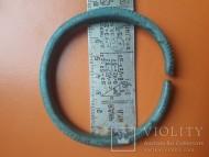 Бронзовый браслет Гава-голиградской культуры