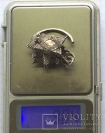 Позднесредневековый кладик серебряных цепочки и четырех колтов