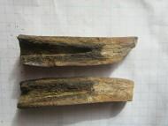 Бронзовый кинжал с родной костяной рукояткой, Тшинецкая культура, 19-11 вв. до н.э.