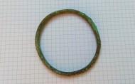 Простой бронзовый браслет Черняховской культуры