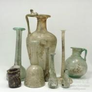 Коллекция стеклянной посуды античности I - III в.в. н.э.