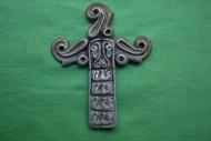 Скифская крестовидная бляха V век до н э