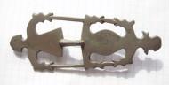 Фибула антропозооморфная Пастырского типа Ранние славяне. 7-начало 8 века