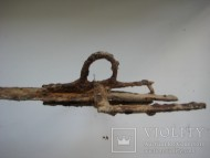 Палюх - кольцо для пальца на рукояти сабли 17 века