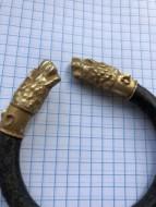 Браслет, львы из высокопробного золота (выше 700*)