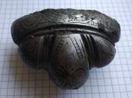 Навершие каролингского меча украшенное чернью