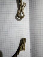 Древнеславянская серебряная ложновитая шейная гривна