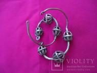 Колты - серебряные древнерусские женские украшения