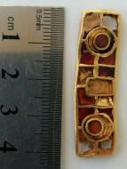Золотое украшение гуннского времени, вторая половина 5 века