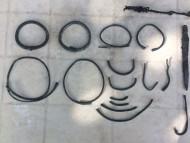 Комплекс 6 -7 веков, Пеньковская культура. Браслеты, шейные гривны, фибула, комплект накладок и пряжка с пояса