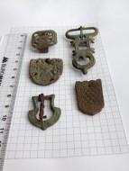 Ременная фурнитура. Византийская 7 век, КР 10-12 век и позднее