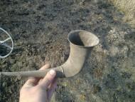 Ритон - серебряный рог для питья