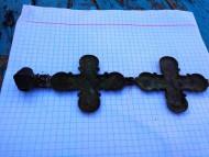 Энколпион: Богородица помогай: Распятие Христово / Богоматаерь Ассунта. 12-13вв.