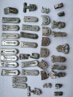 Серебряный комплекс Ранних славян: поясной набор и украшения виде двух спиралей, 7-й век