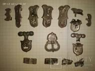 Древнеславянский серебряный поясной набор