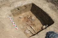 Погребение воина с кифарой. Некрополь поселения «Волна-1»