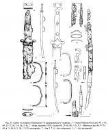 Аварские сабли вторая половина VII века
