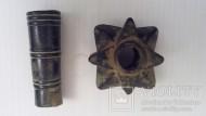 Древнерусская булава с длинной втулкой