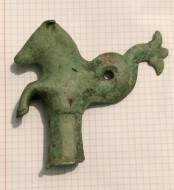 Бронзовый морской конь Гиппокампус