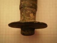 Обломок меча Гальштатской культуры 12-10 век до н. э.