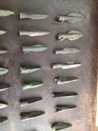 Скифские втульчатые наконечники стрел с хвостиком, 6-5 до н. э.