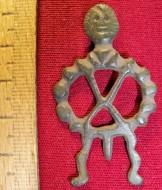 Человечек с фаллосом и солярным (?) символом