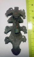 Зооморфная фибула. Ранние славяне 5-7 век