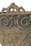 Орнаментированный бронзовый литой котел, Савроматы