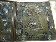 Икона-складень Деисусный Чин, 18-19 век